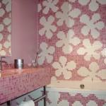 Salle de bain mosaïque Hôtel La Baule