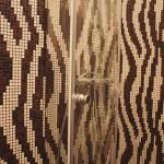 Salle d'eau mosaïque Bisazza 1x1cm Nantes