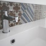 Crédence vasque Azulej Mutina Salle de bains Sucé sur Erdre 44