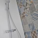 Douche à l'italienne mosaïque 1x1cm Azulej Mutina Sucé sur Erdre 44 (1)