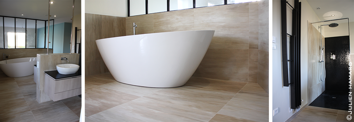 Rénovation Salle de bain Orvault Carrelage Mosaïque