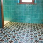 Salle de bain Douche Zelliges & Carreaux de ciment Saffré 44