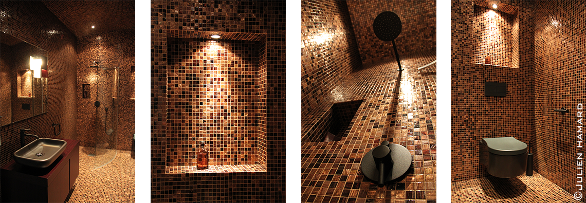 Salle de bain Mosaïque Nantes