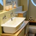 Salle de bain crédence mosaïque Nantes