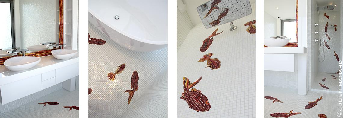Salle de bain Mosaïque Sicis La Baule
