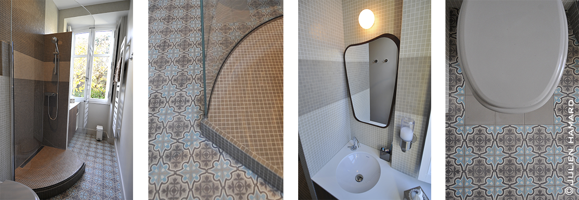 carreaux de ciment douche douche italienne pour castorama carreaux ciment beau crush carrelage. Black Bedroom Furniture Sets. Home Design Ideas